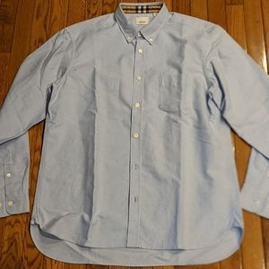 "Men's Burberry ""Harry"" Pocket LS Button Up Shirt"